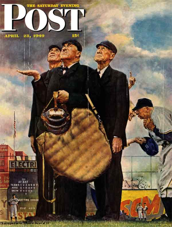 Norman-Rockwell.-Bottom-of-the-Sixth.-April-23-1949